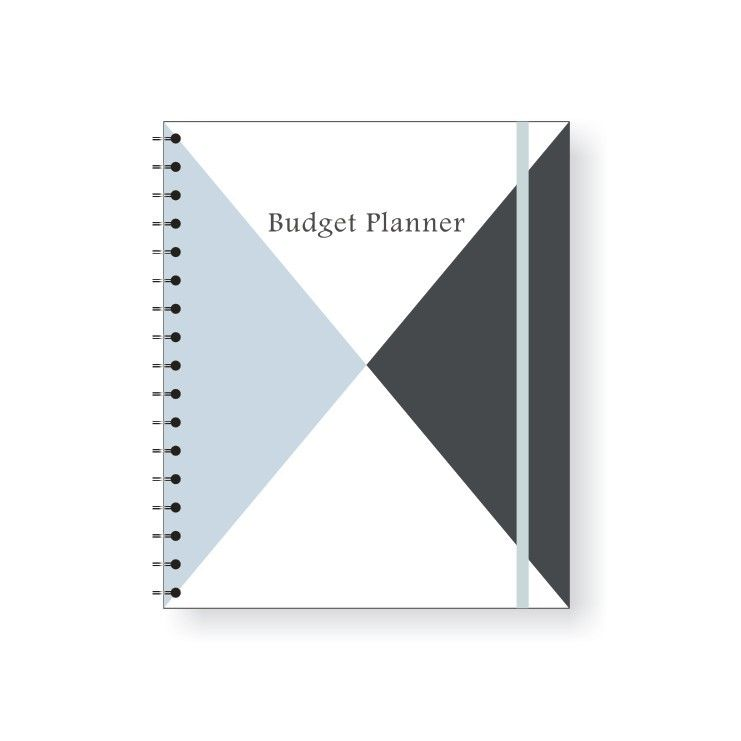 Income / Expenditure Personal Monthly Budget Planner Size 180 * 250mm Offset Printing Logo